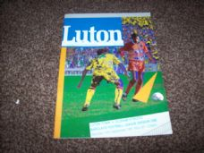 Luton Town v Oldham Athletic, 1991/92